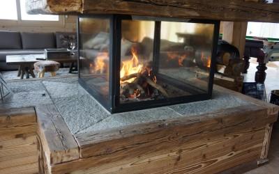 chalet luxe prestige et famille à Risoul dans les Hautes Alpes - au coin du feu